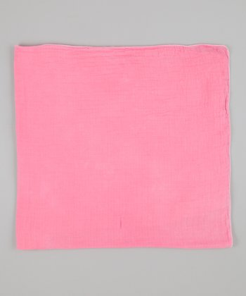 Flamingo Pink Swaddle Blanket