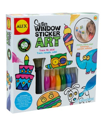 Super Window Sticker Art Set