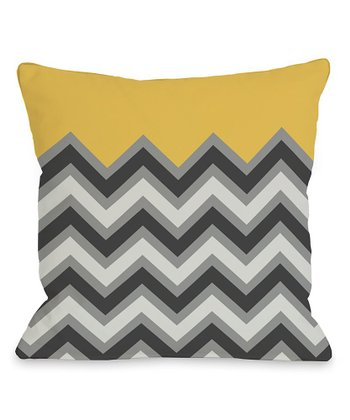 Mimosa Zigzag Pillow - Set of Two