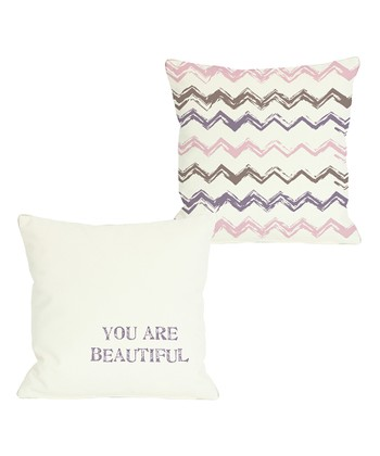 'You are Beautiful' Pillow - Set of Two