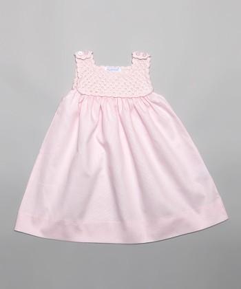 Pink Crocheted Jumper - Infant