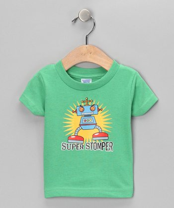 Grass 'Super Stomper' Tee - Infant, Toddler & Kids