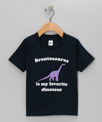 Navy Favorite Brontosaurus Tee - Toddler & Kids