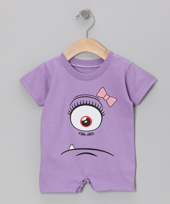 Purple Princess Miasma Romper - Infant