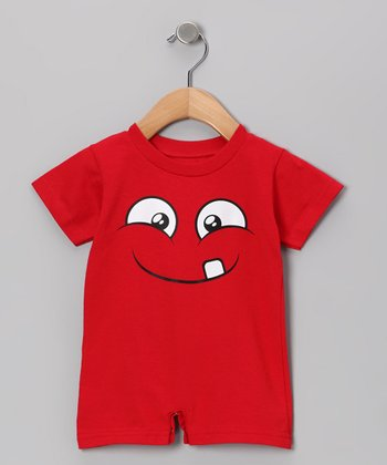 Red Mud Romper - Infant