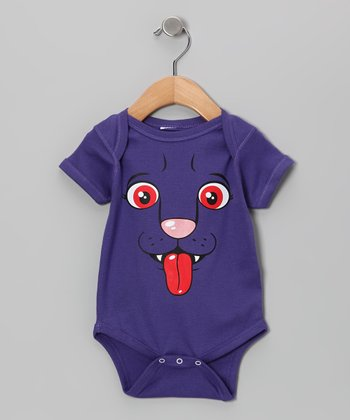Purple Otto Bodysuit - Infant