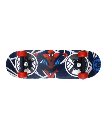Blue & Red Spider-Man Skateboard