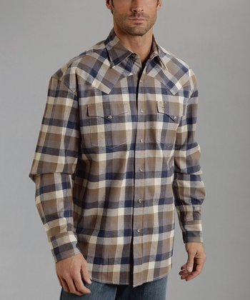 Little Buffalo Check Plaid Button-Up - Men