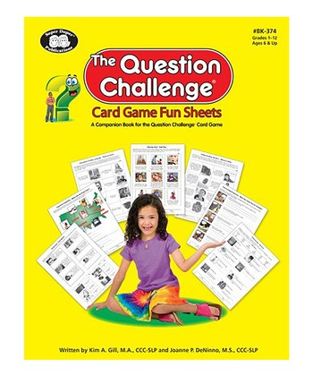 The Question Challenge Fun Sheets Workbook & CD Set