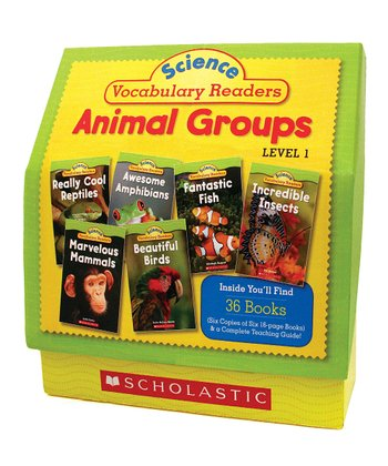 Animal Groups: Science Vocabulary Book Set