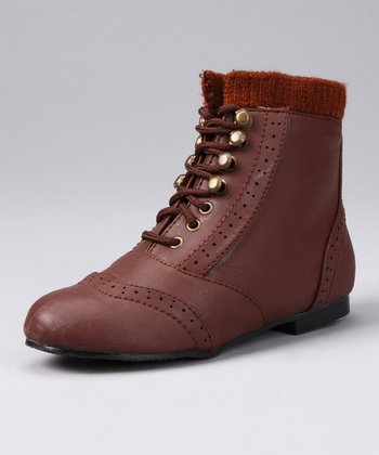 Cognac Lined Boot