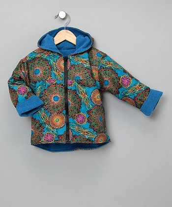 Outside Baby Apparel - Spirograph Reversible Two-Layer Jacket