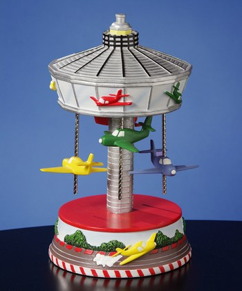 Airplane Carousel Musical Figurine