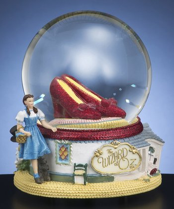Ruby Slippers Musical Water Globe