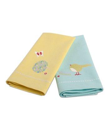 Egg Hunt Towel Set