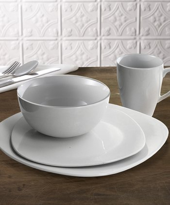 Waverly Circles 16-Piece Dinnerware Set