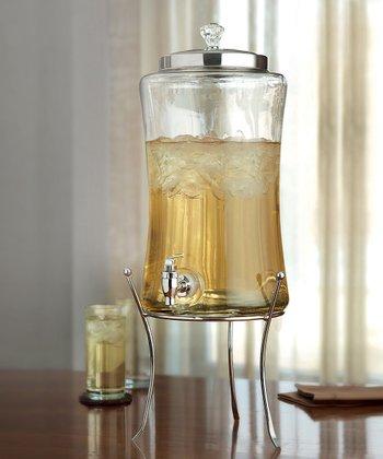 1.7-Gal. Beverage Dispenser & Stand