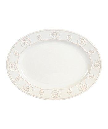 Bianca Braid Oval Platter