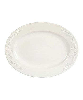 Bianca Laurel Oval Platter