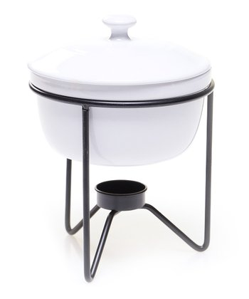 Covered Baker & Serving Stand