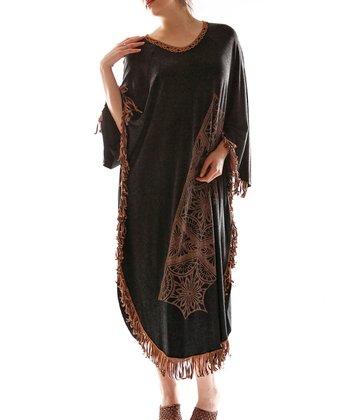Black Dolman Dress - Plus