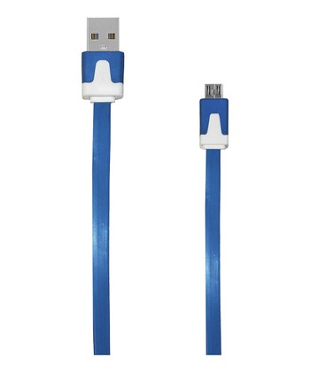 Blue Micro USB Charging Cable