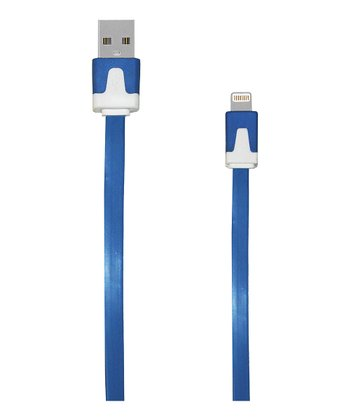 Blue Lightning Cable