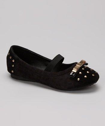 Marilyn Moda Black Pepita Flat