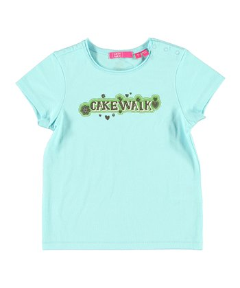 Aqua 'Cakewalk' Tee - Infant, Toddler & Girls