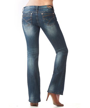 Light Blue Fadeout Bootcut Jeans