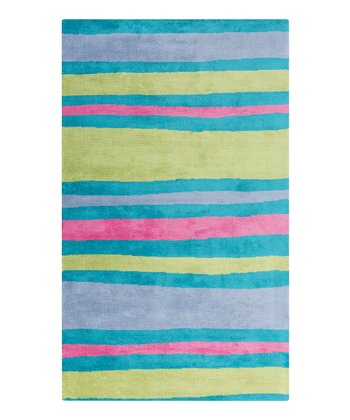 Pink & Green Sea Abigail Rug