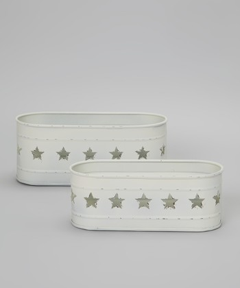 White Star Basket Set