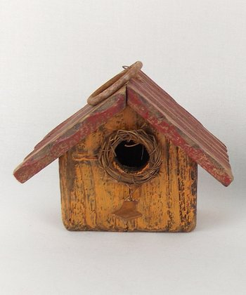 Light Tan Birdhouse