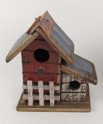 Picket Fence Bird House