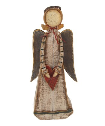 Heart Angel Figurine