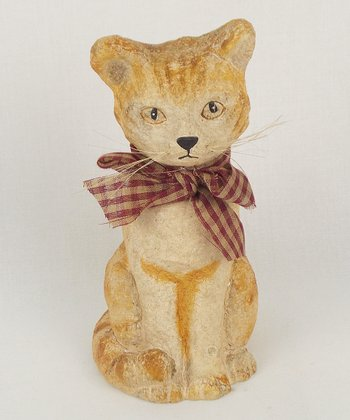 Sitting Cat Figurine