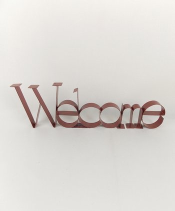 'Welcome' Décor