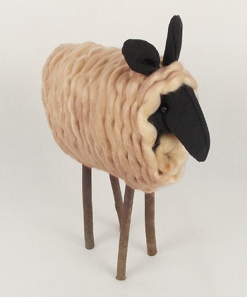 Standing Sheep 8'' Figurine