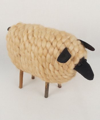 Standing Sheep 6'' Figurine