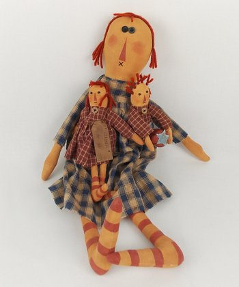 'For Sale' Rag Doll Plush Figurine