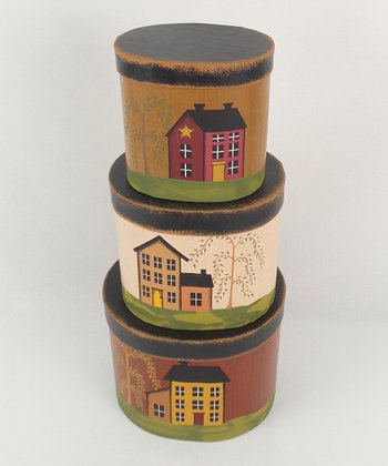 Country House Round Box Set
