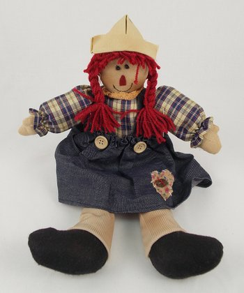 Anne Rag Doll Plush Figurine