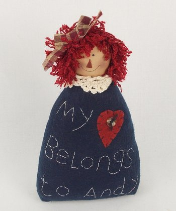 Anne Heart Rag Doll Plush Figurine