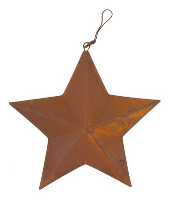 Rustic 6'' Hanging Star
