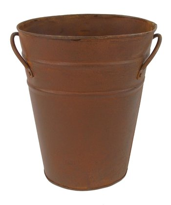 Rustic 7'' Oval Bucket
