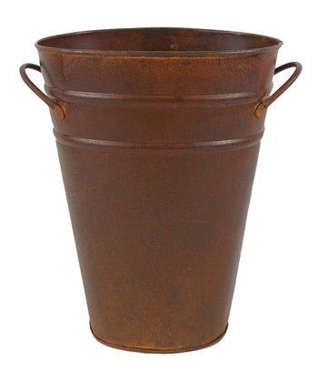 Rustic 9.5'' Oval Bucket