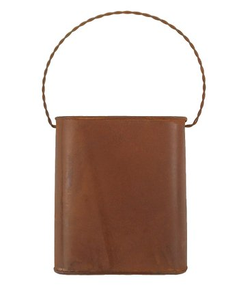 Rustic Bucket Wall Pocket
