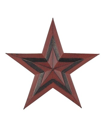 Red & Black Hanging Star