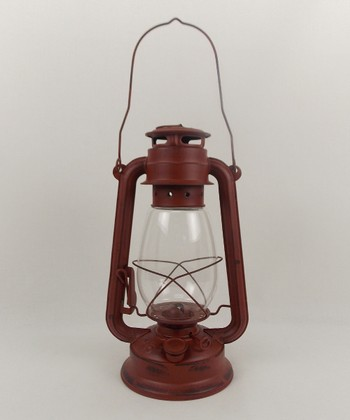 Red Barn Oil Lantern