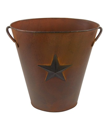 Rustic Star Bucket